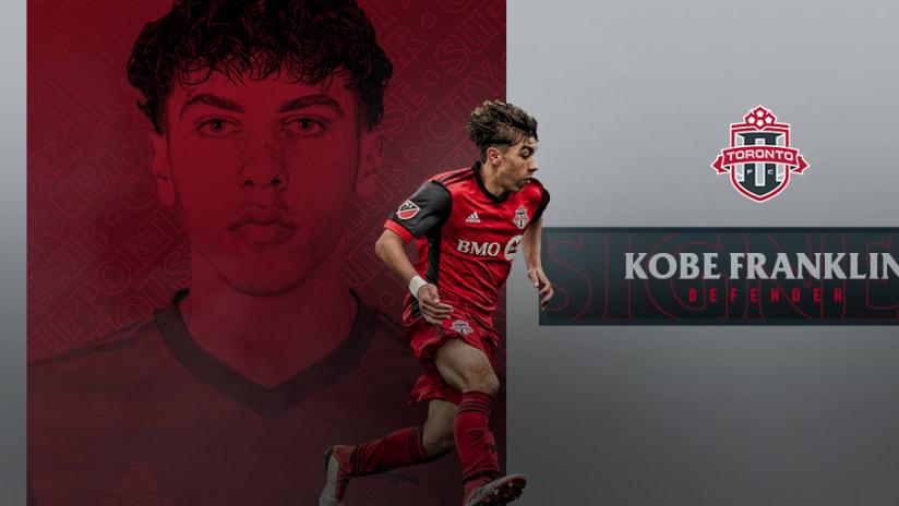 Toronto FC II Sign Kobe Franklin
