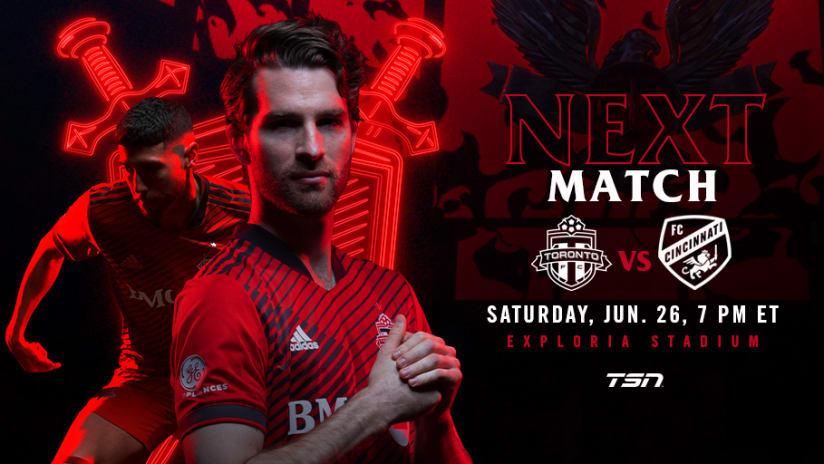 Match Preview: TORvCIN 06262021