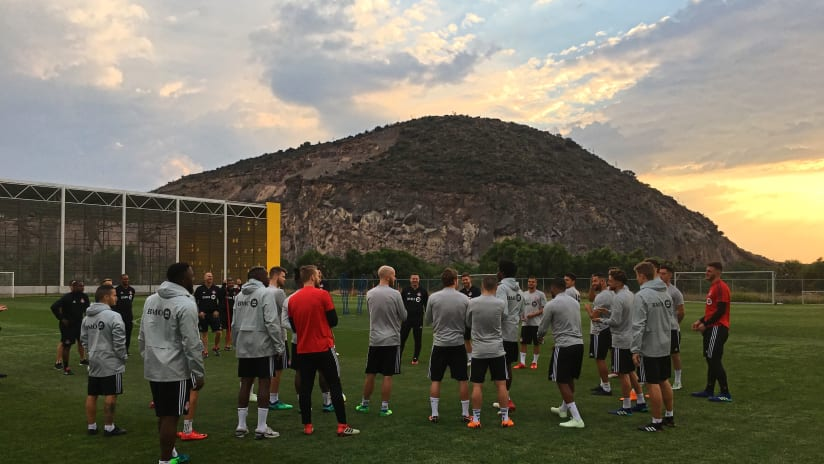 Pachuca Training Mountain