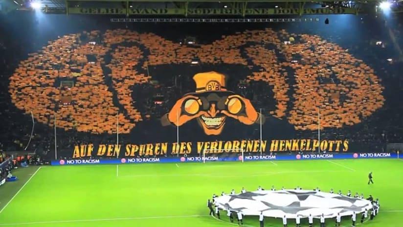 Borussia Dortmund Tifo