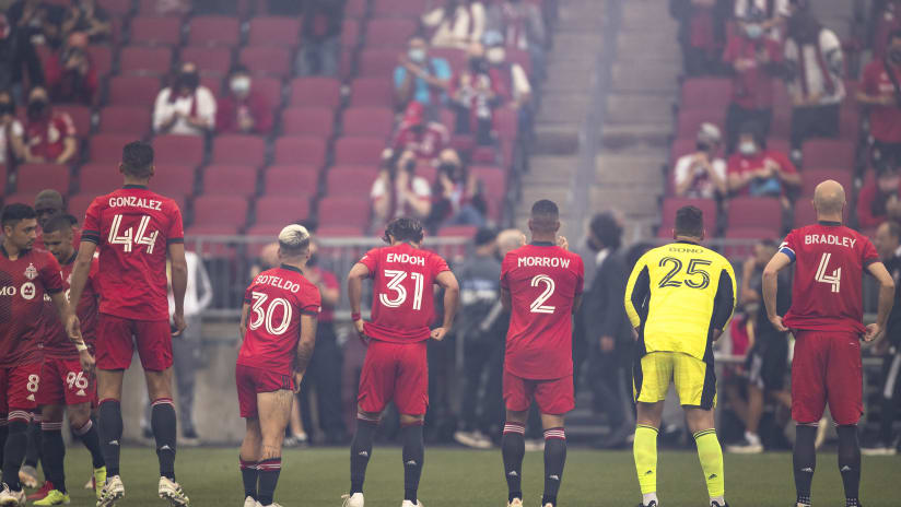 TFC's return home sees strong performance at raucous BMO Field
