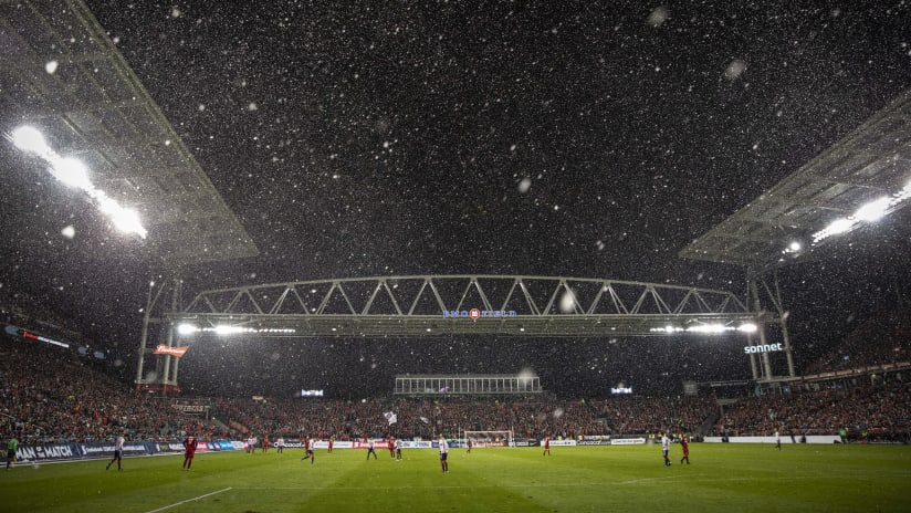 BMO Field Snow vs. Chivas