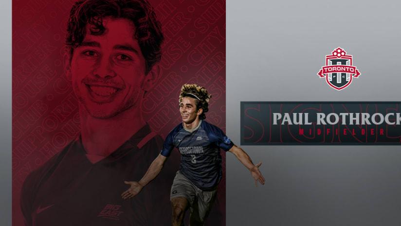 Toronto FC II Sign MLS Superdraft Pick Paul Rothrock