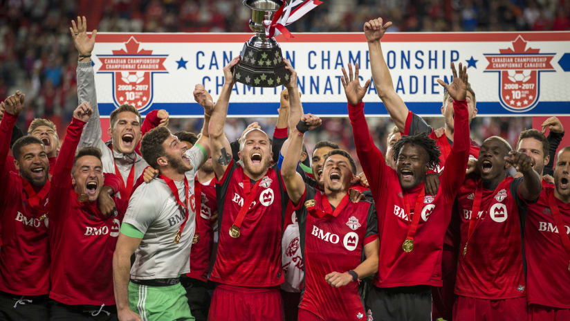 CANADIAN CHAMPIONSHIP | A look back at Toronto FC's record seven Voyageurs Cup triumphs