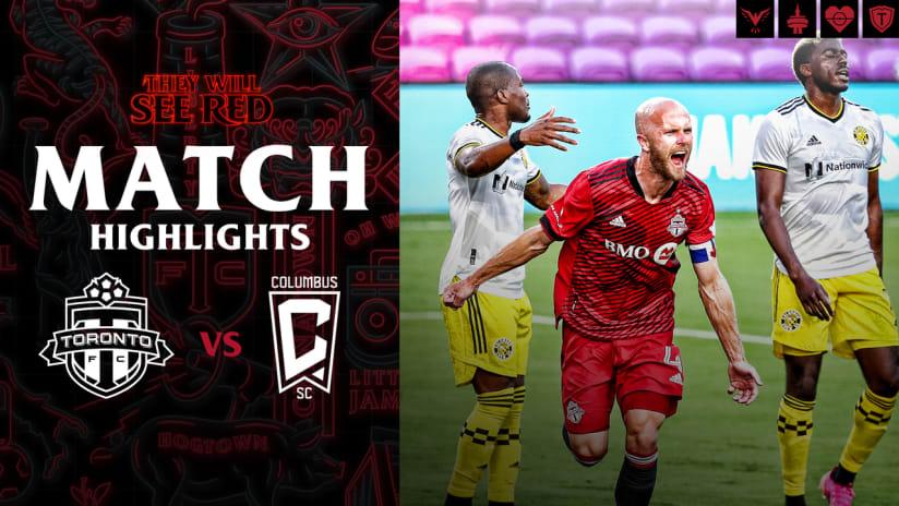 Match Highlights | Toronto FC vs. Columbus SC - May 12, 2021