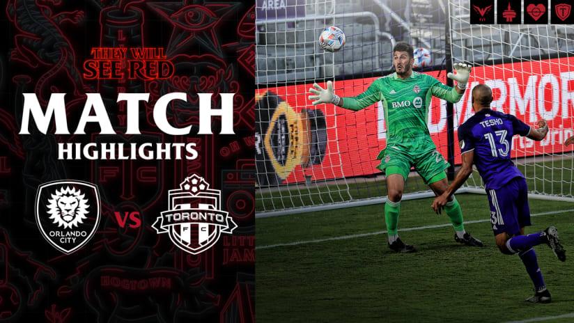 HIGHLIGHTS: Orlando City SC vs. Toronto FC | May 22, 2021