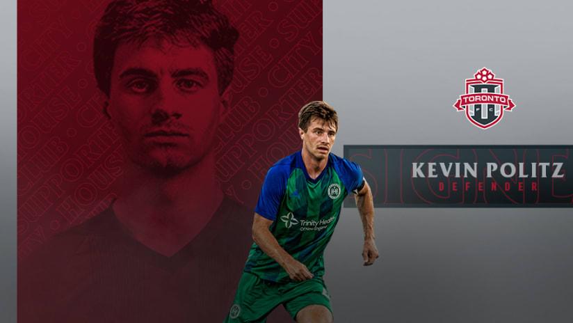 Toronto FC II sign Kevin Politz