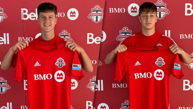 Toronto FC II Sign Two Academy Players
