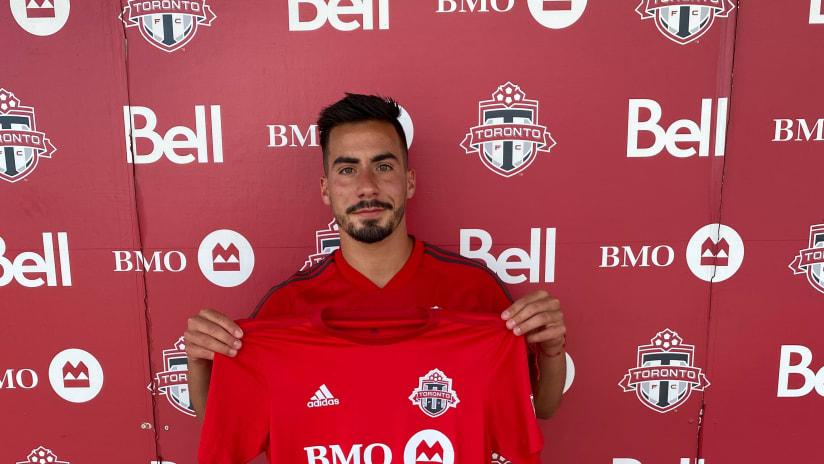 Toronto FC II Sign Nicolas Ovalle