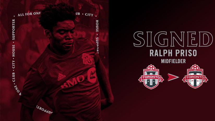 Toronto FC Sign Ralph Priso Image