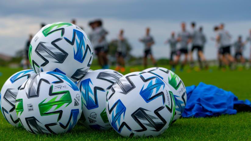 Preseason 2020 MLS Balls
