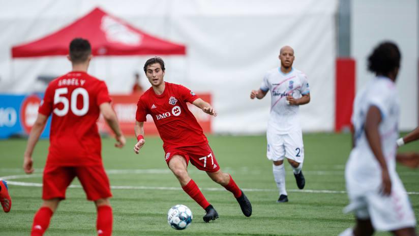 Toronto FC II Loan Jordan Perruzza To San Antonio FC