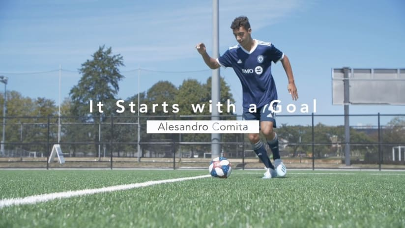 It starts with a goal presented by BMO: Alesandro Comita