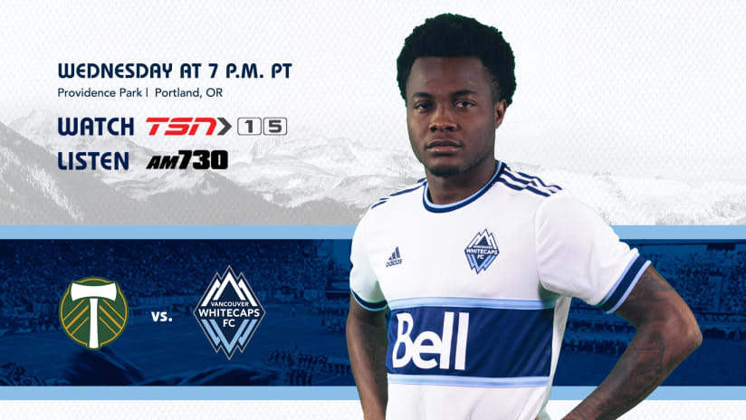 Whitecaps FC head to Portland for Cascadia tilt with the Timbers