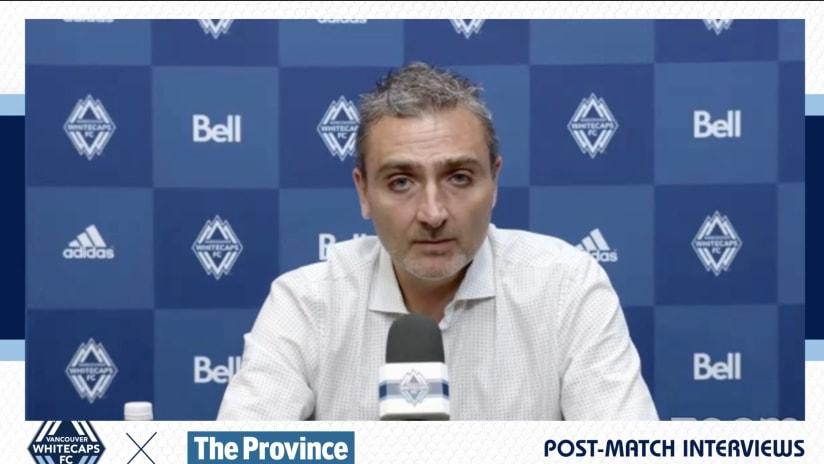 Post-Match: Vanni Sartini - September 10th, 2021