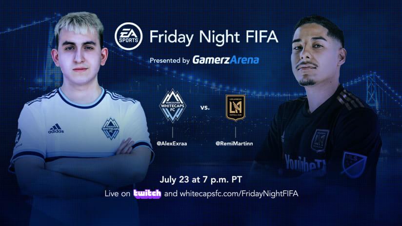 Friday Night FIFA: Exraa vs. LAFC's RemiMartinn