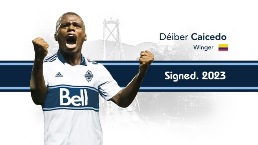 Deiber Caicedo - Signing