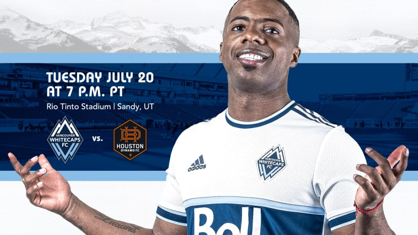 TEXAS-SIZED OPPORTUNITY: 'Caps look to string consecutive wins versus Houston Dynamo FC on Tuesday