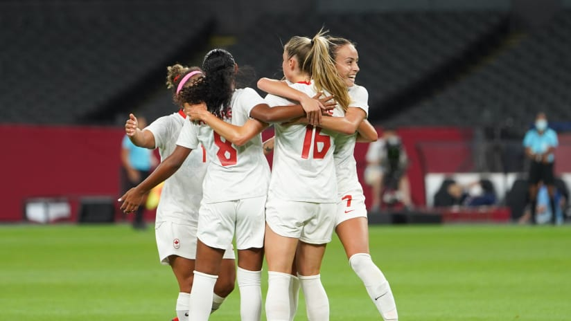 Canada WNT defeat Chile 2-1 at Olympics
