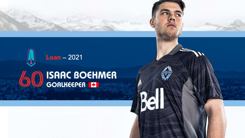Whitecaps FC loan homegrown goalkeeper Isaac Boehmer to Pacific FC