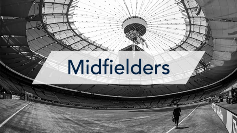 Roster breakdown - midfielders