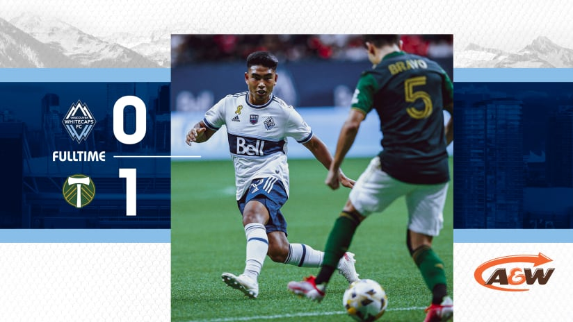 'Caps fall 1-0 to Portland