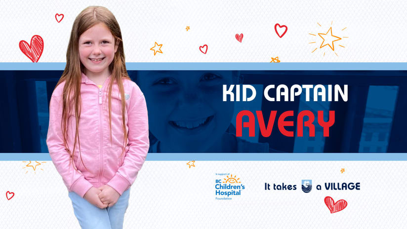 Kid Captain of the Match: Avery
