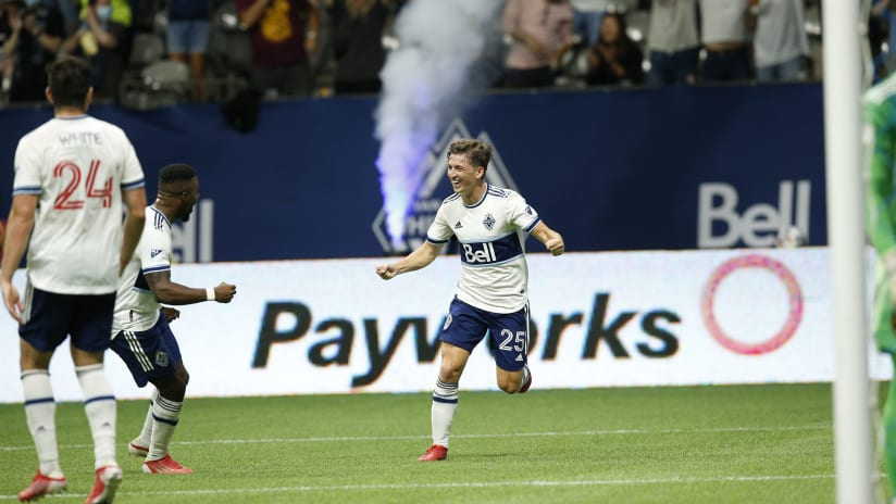 Gauld named to third straight MLS Team of the Week