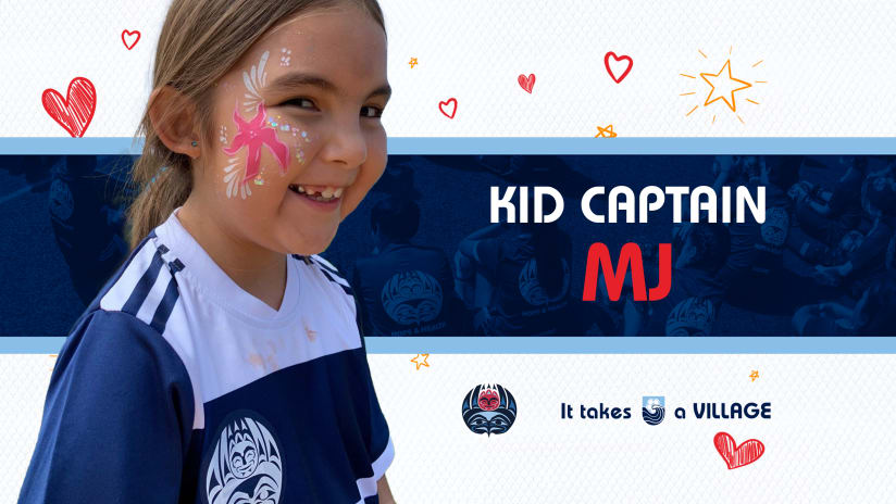 Kid Captain of the Match: MJ