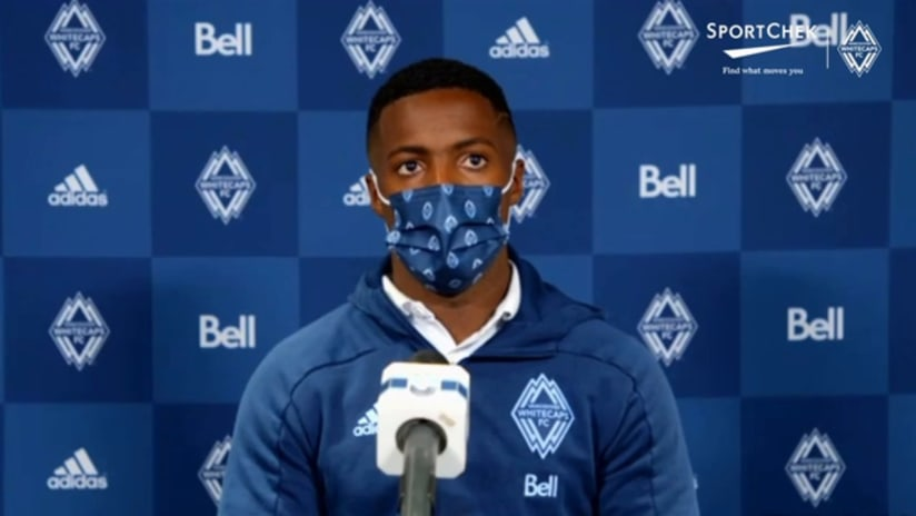Post-Match Interviews presented by Sport Chek: Cristian Dajome