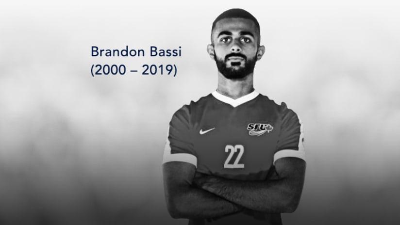 In memory of Brandon Bassi