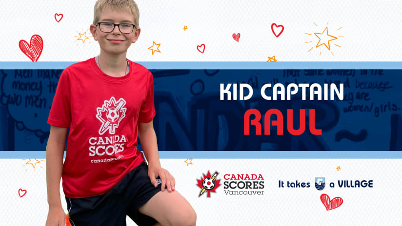 Kid Captain of the Match: Raul