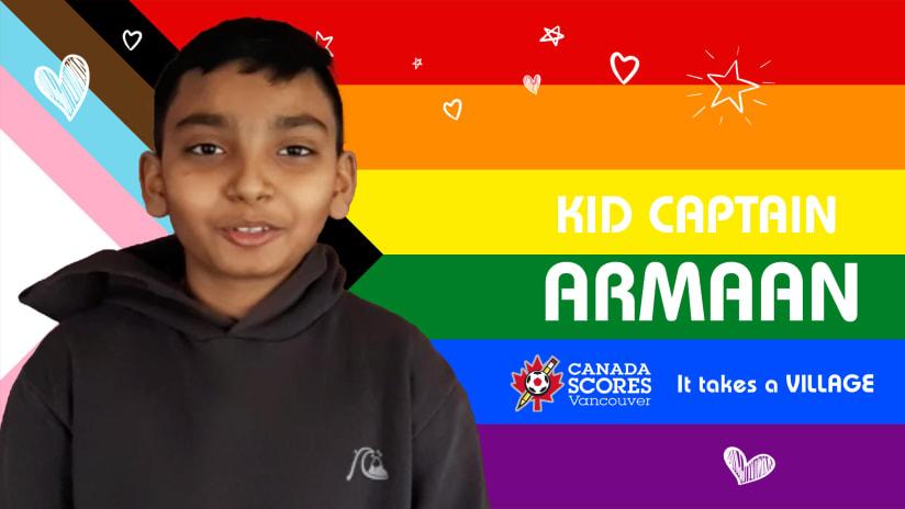Kid Captain of the Match: Armaan