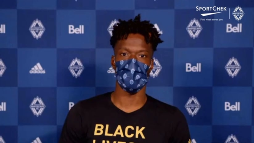 Post-Match Interviews presented by Sport Chek: Tosaint Ricketts