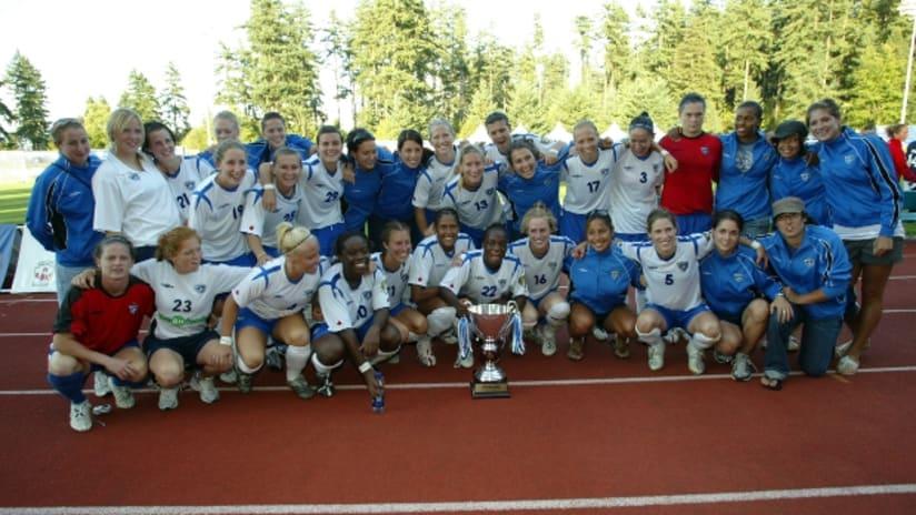2006 W-League Champs