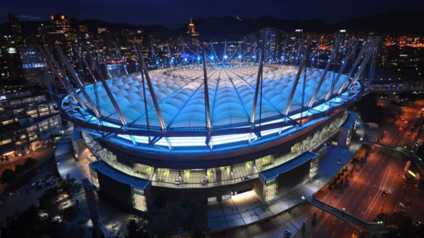 BC Place Blue Roof