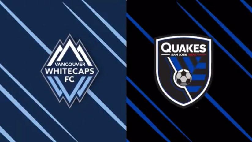 HIGHLIGHTS: Whitecaps FC vs. San Jose Earthquakes | October 24, 2020