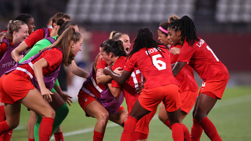 History! Canada defeats U.S., will play for Gold
