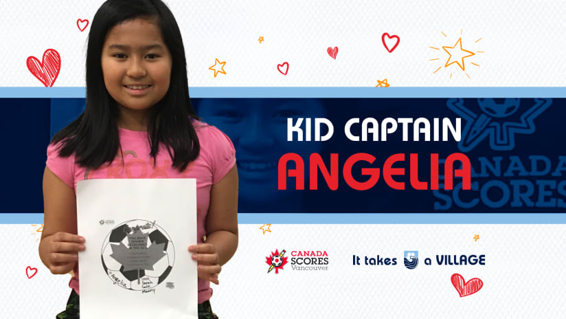 Kid Captain of the Match: Angelina