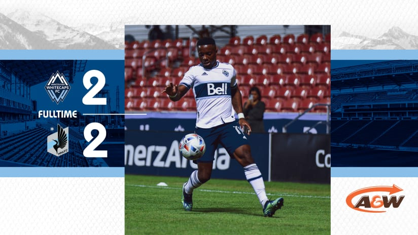 'Caps, MNUFC draw as Dájome buries late PK in last home match in Utah