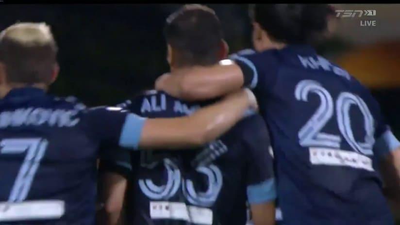 GOAL: Adnan opens the scoring
