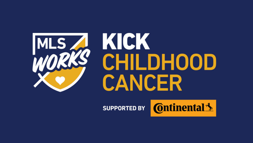 MLS and Continental Tire team up for 8th annual Kick Childhood Cancer campaign