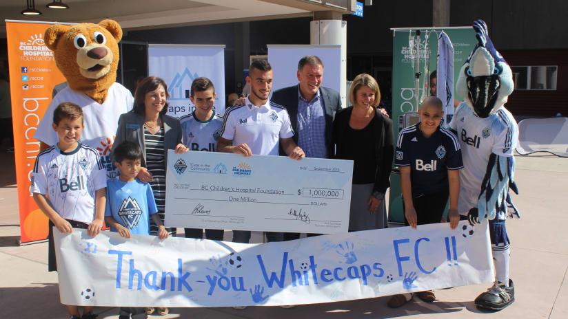 BC Children's Hospital Donation