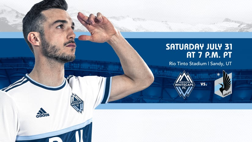 Back in Utah: 'Caps host MNUFC for final Rio Tinto home match