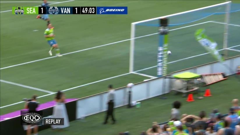 GOAL: Cristian Dájome - 49th minute