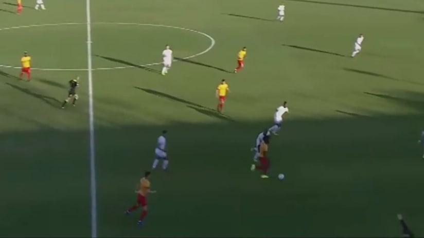 Highlight reel: A first look at new 'Caps midfielder Leonard Owusu