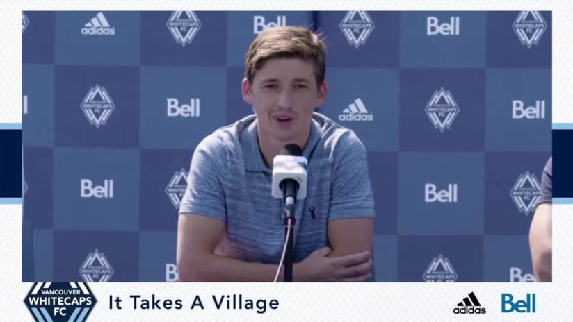 Press Conference: Vancouver Whitecaps FC introduce Ryan Gauld
