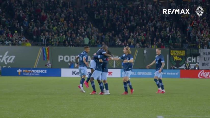 RE/MAX Move of the Match - October 20th #PORvVAN, Déiber Caicedo