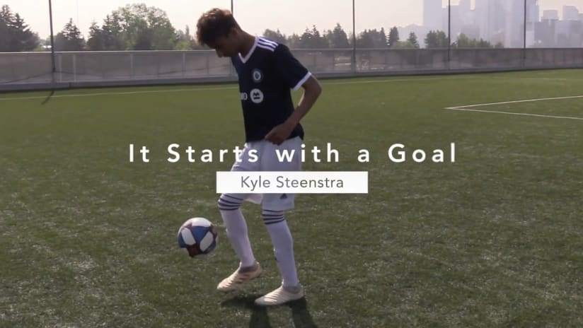 It starts with a goal presented by BMO: Kyle Steenstra