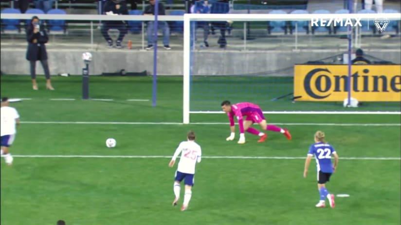 RE/MAX Move of the Match - October 23rd #SJvVAN, Bruno Gaspar